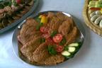 Fleischplatte Grillbuffet