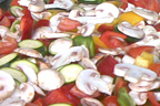 Grill Gemüse