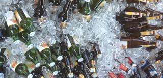 Bier Eisgekühlt