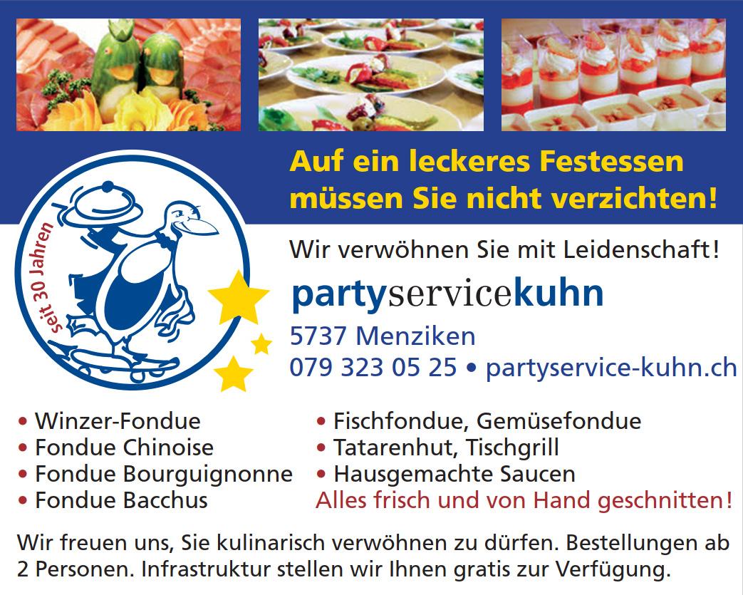 Weihnachten 2020 mit Partyservice Kuhn